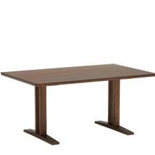 カリモク60+ LDテーブルT1300(ウォールナット色)(*注意:高さ60㎝です) D36483MW