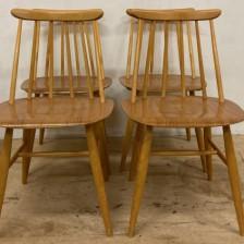 Fanett chair Ilmari Tapiovaara / ファネットチェア チーク イルマリ・タピオヴァーラ / stock2108-34-38-42(メンテナンス前)ビンテージ北欧家具