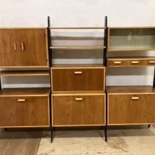 unit shelf(open shelf) Teak Beech / ユニットシェルフ オープンシェルフ チーク×ビーチ / stock2108-62(メンテナンス前)ビンテージ北欧家具