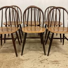 Fanett chair Ilmari Tapiovaara / ファネットチェア チーク イルマリ・タピオヴァーラ / stock2108-70(メンテナンス前)ビンテージ北欧家具