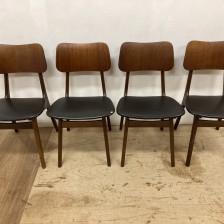 Ib Kofod Larsen chair / チーク イヴ・コフォード・ラーセン ダイニングチェア / stock2108-19(メンテナンス前)ビンテージ北欧家具