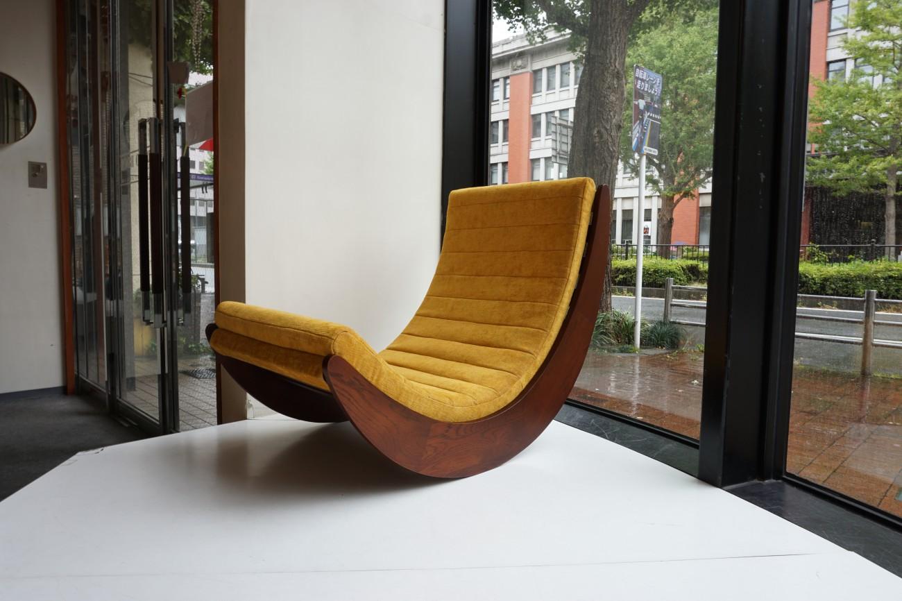 Verner Panton Rocking chair / ヴェルナー・パントン ロッキングチェア オーク材 (ダークオーク)